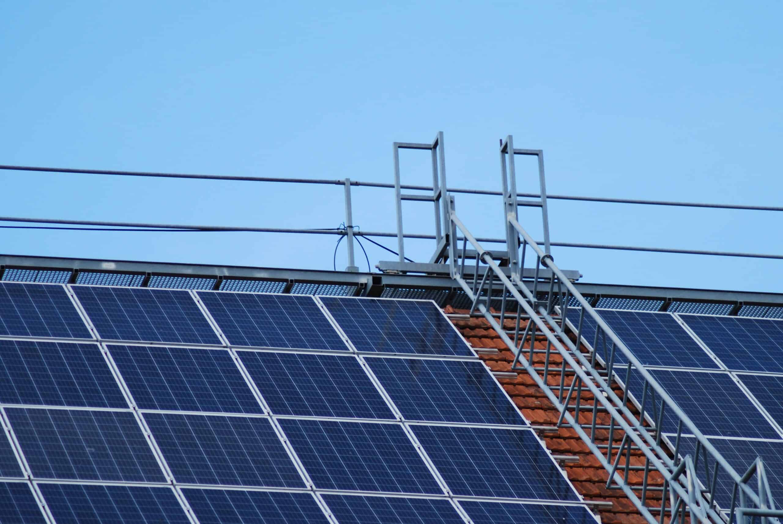 Rooftop solar pv system