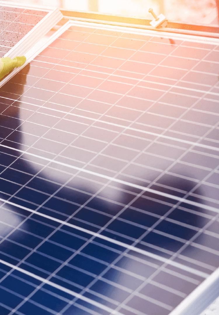 Solar panel installation in Mumbai